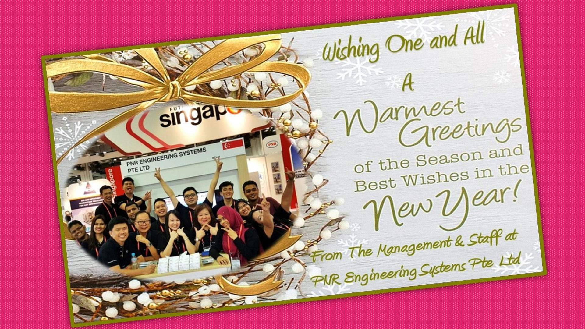 Pnr Wishing One And All A Warmest Greetings Of The Season And Best