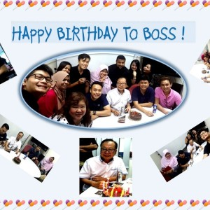 Happy Birthday Boss !