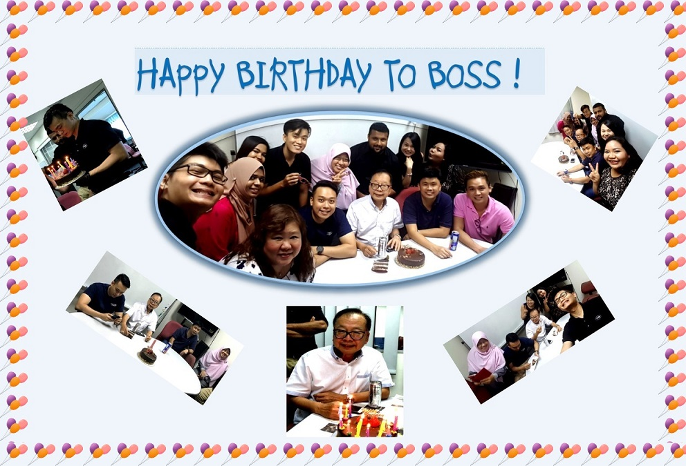 Happy Birthday Boss !